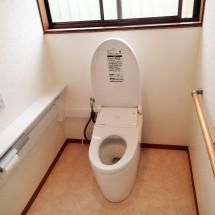 トイレ手摺|リフォーム