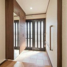 新築工事|玄関