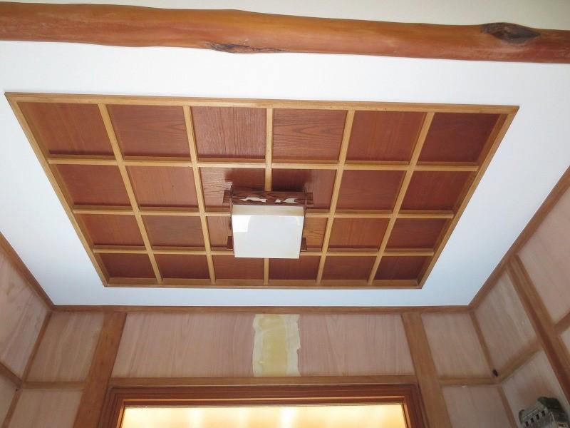 玄関天井|リフォーム