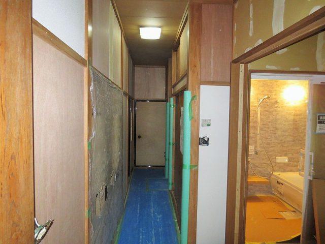 浴室、廊下|リフォーム