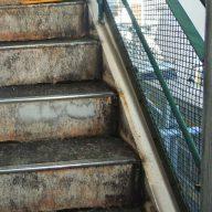 階段床面塗装|リフォーム