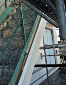 工場外部階段|リフォーム