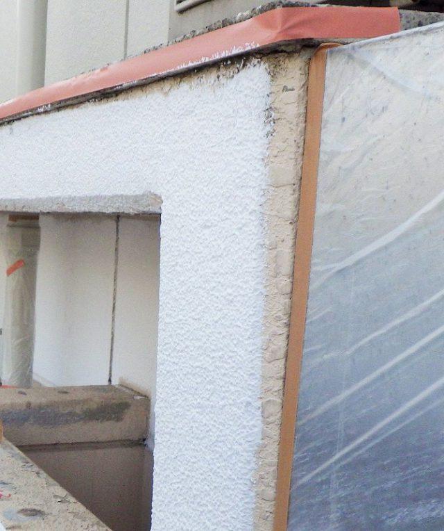 庇外壁塗装|リフォーム