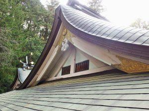 唐破風屋根塗装|リフォーム