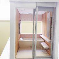 システムバスルーム模型|リフォーム