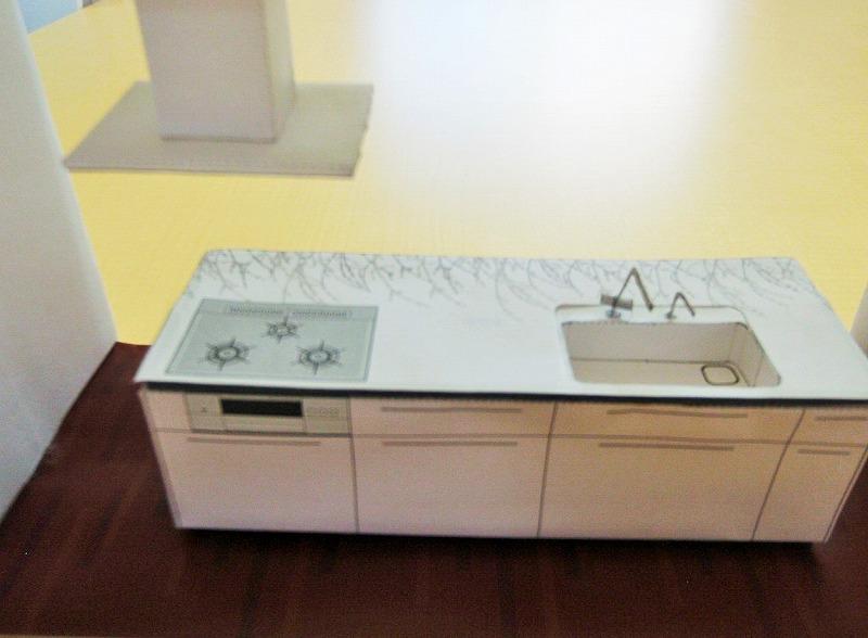 台所模型 リフォーム